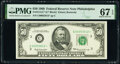 Small Size:Federal Reserve Notes, Fr. 2114-C* $50 1969 Federal Reserve Star Note. PMG Superb Gem Unc 67 EPQ.. ...