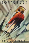 """Movie Posters:Action, The Rocketeer (Walt Disney Pictures, 1991). Rolled, Very Fine. One Sheet (27"""" X 40"""") SS Advance, John Mattos Artwork. Action..."""
