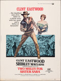 Movie Posters:Western, Two Mules for Sister Sara (Universal, 1970). Rolled, Fine....