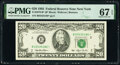 Small Size:Federal Reserve Notes, Fr. 2079-B* $20 1993 Federal Reserve Star Note. PMG Superb Gem Unc 67 EPQ.. ...