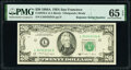 Small Size:Federal Reserve Notes, Super Repeater Serial Number 34343434 Fr. 2076-L $20 1988A Federal Reserve Note. PMG Gem Uncirculated 65 EPQ.. ...