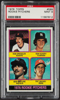 Baseball Cards:Singles (1970-Now), 1976 Topps Ron Guidry - Rookie Pitchers #599 PSA Mint 9....