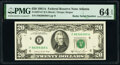 Small Size:Federal Reserve Notes, Radar Serial Number 98399389 Fr. 2074-F $20 1981A Federal Reserve Note. PMG Choice Uncirculated 64 EPQ.. ...