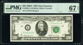 Small Size:Federal Reserve Notes, Fr. 2068-L $20 1969A Federal Reserve Note. PMG Superb Gem Unc 67 EPQ.. ...