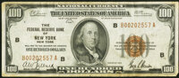 Fr. 1890-B $100 1929 Federal Reserve Bank Note. Very Fine
