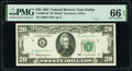 Small Size:Federal Reserve Notes, Fr. 2065-K* $20 1963 Federal Reserve Star Note. PMG Gem Uncirculated 66 EPQ.. ...