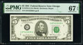 Small Size:Federal Reserve Notes, Fr. 1976-G $5 1981 Federal Reserve Note. PMG Superb Gem Un...