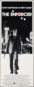 """Movie Posters:Crime, The Enforcer (Warner Bros., 1977). Rolled, Very Fine. Insert (14"""" X 36"""") Bill Gold Photography. Crime.. ..."""