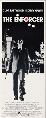 """The Enforcer (Warner Bros., 1977). Rolled, Very Fine. Insert (14"""" X 36"""") Bill Gold Photography. Crime"""