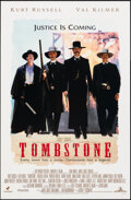 """Movie Posters:Western, Tombstone (Buena Vista, 1993). Rolled, Very Fine/Near Mint. Mini Poster (17.75"""" X 27""""). Western.. ..."""