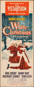 """Movie Posters:Musical, White Christmas (Paramount, 1954). Rolled, Fine-. Insert (14"""" X 36""""). Musical.. ..."""