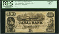 New Orleans, LA- Canal Bank $500 18__ G70a Remainder PCGS Choice New 63