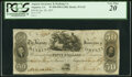 Obsoletes By State:Georgia, Augusta, GA- Augusta Insurance & Banking Company $50 Jan. 28, 1837 G42 PCGS Very Fine 20.. ...