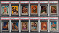 Boxing Cards:General, 1951 Topps Ringside Boxing PSA Graded Collection (12)....