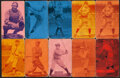 Baseball Cards:Lots, 1926-29 Exhibits Baseball Collection (23) With Gehrig, Johnson & Speaker....