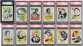 Football Cards:Sets, 1961 Nu-Card Football Graded Complete Set & Unopened Pack (80) - with Mint Davis Rookie. ...