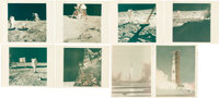 """Apollo 11: Collection of Eight Vintage NASA """"Red Number"""" Color Photos, Directly from the Estate of NASA Legend..."""