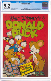 Four Color #178 Donald Duck (Dell, 1947) CGC NM- 9.2 Off-white to white pages