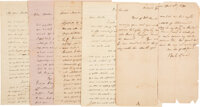 Group of Jack Shackelford Autograph Letters Signed