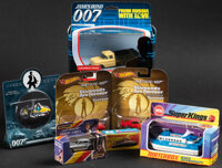 James Bond Toy Vehicles & Other Lot (Various, 1971-2001). Overall: Very Fine-. Toy Vehicles in Original Packaging (1...