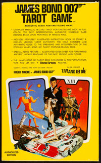 """Live and Let Die: James Bond 007 Tarot Game (United Artists, 1973). Very Fine+. Card Game in Original Box (6.5"""" X 1..."""