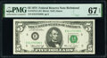 Small Size:Federal Reserve Notes, Fr. 1973-E $5 1974 Federal Reserve Notes. E-C and E-D Blocks. PMG Superb Gem Unc 67 EPQ.. ... (Total: 2 notes)