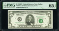 Small Size:Federal Reserve Notes, Fr. 1972-K; K* $5 1969C Federal Reserve Notes. PMG Graded Gem Uncirculated 65 EPQ; Gem Uncirculated 66 EPQ.. ... (Total: 2 notes)