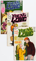Silver Age (1956-1969):Romance, Young Love 77, 78. and 82 Group (DC, 1969-70) Condition: Average FN/VF.... (Total: 3 )