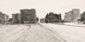 Paintings, Dennis Blagg (American, b. 1951). Where Kennedy Fell. Pencil on paper. 10-1/2 x 20 inches (26.7 x 50...