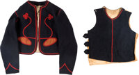 "Rare 35th New Jersey ""Cladek Zouaves"" Jacket, Vest and Fez"