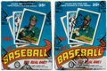 Baseball Cards:Unopened Packs/Display Boxes, 1989 O-Pee-Chee Baseball Wax Box Pair (2) - Each With 48 Unopened Packs.... (Total: 2 items)