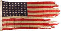 D-Day Invasion: Liberty Ship USS Charles Morgan Flag