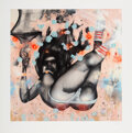 Prints & Multiples, David Choe (b. 1976). Falling for Grace, 2008. Giclee in colors on Arches paper. 24 x 24 inches (61 x 61 cm) (sheet). Ed...