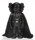Collectible, KAWS (b. 1974). Darth Vader, 2007. Painted cast vinyl. 9-3/4 x 4-1/2 x 3-1/2 inches (24.8 x 11.4 x 8.9 cm). Stamped to t...