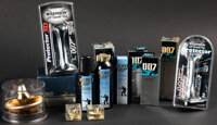 James Bond Grooming Products & Other Lot (Various, 1966-1999). Overall: Fine/Very Fine. Bottles of Cologne (7) (1.5&...