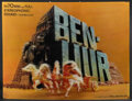 """Movie Posters:Academy Award Winners, Ben-Hur (MGM, R-1960s/1959). Very Fine-. Lenticular Standee (10.25"""" X 13.5""""), Color Transparencies (2) (4"""" X 5"""" & 8"""" X 10""""),... (Total: 5 Items)"""
