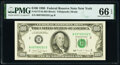 Fr. 2173-B $100 1990 Federal Reserve Note. PMG Gem Uncirculated 66 EPQ
