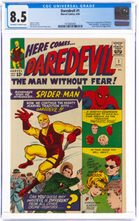 Daredevil #1 (Marvel, 1964) CGC VF+ 8.5 Off-white to white pages