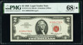 Small Size:Legal Tender Notes, Fr. 1513 $2 1963 Legal Tender Note. PMG Superb Gem Unc 68 EPQ*.. ...