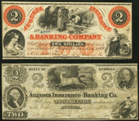 Augusta, GA- Augusta Insurance and Banking Co. $2 March 17, 1862 Fine; Augusta, GA- Augusta Insurance and Banking Co...