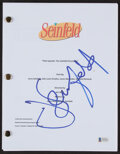 """Autographs:Others, Jerry Seinfeld Signed """"Seinfeld"""" Script Replica. ..."""