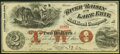 Obsoletes By State:Michigan, Monroe, MI- River Raisin & Lake Erie Rail Road Company $2 Aug., 1863 Crisp Uncirculated.. ...