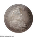 Proof Seated Dollars: , 1855 $1 PR64 NGC. Rarely seen in either business strike ...