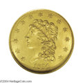 Classic Quarter Eagles: , 1834 $2 1/2 MS65 NGC. Breen-6138, Small Head, R.2. As the ...