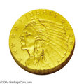 Proof Indian Quarter Eagles: , 1911 $2 1/2 PR65 NGC. Like the 1908, but unlike the 1909 ...
