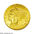 Indian Half Eagles: , 1914 $5 MS65 NGC. A quaint and delicately frosted Gem ...