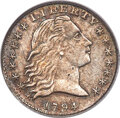 1794 H10C V-4, LM-4, R.4, XF40 PCGS. The usual early die state, before heavy cracks appear across the reverse. This piec...