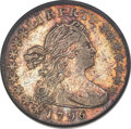 1796 H10C V-1, LM-1, R.3, VF30 PCGS. An exceptional Draped Bust, Small Eagle type coin, showing above-average sharpness...