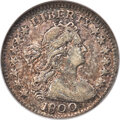1800 H10C V-1, LM-1, R.3, VF30 NGC. The early die state, showing clear date numerals. Mottled russet, gold, and lilac-gr...