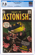 Silver Age (1956-1969):Horror, Tales to Astonish #33 (Marvel, 1962) CGC FN/VF 7.0 Off-white to white pages....